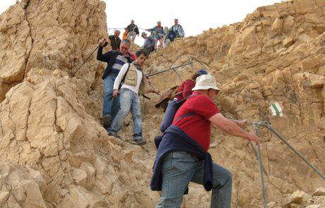 שביל הרץ במצדה – מדבר יהודה