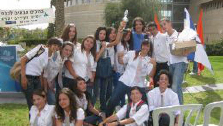 """תלמידי ביה""""ס 'מיתרים' ממיתר זכו בתחרות 'יזמים צעירים של הנגב'"""