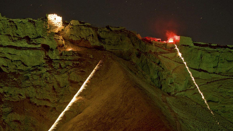 צילום-אבינעום מיכאלי Masada Sound and Light show 2010
