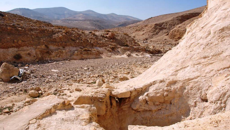 מאגורת כידוד בנחל יעלים צילום-ענת רסקין