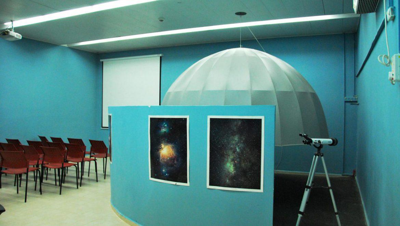 מצפה הכוכבים בתיכון אורט ערד צילום-ענת רסקין