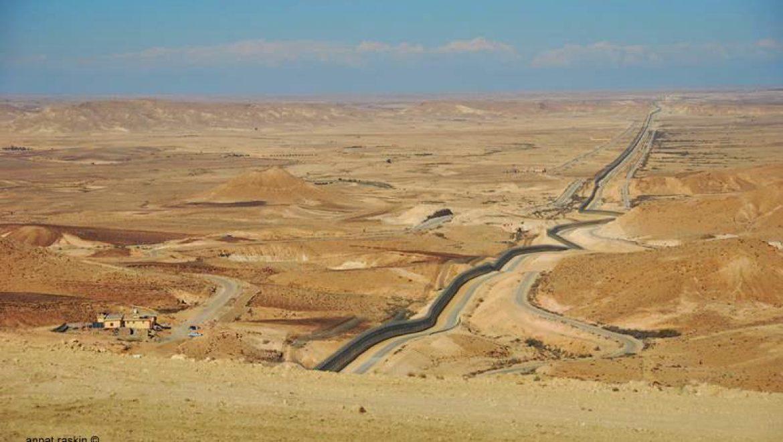 ציר 10 על גבול ישראל-מצרים צילום-ענת רסקין
