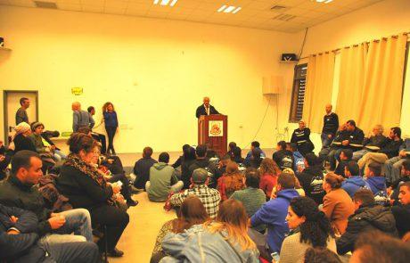 מפגש הקשבה יהודי-בדואי בחורה בעקבות אירועי אום אל-חיראן