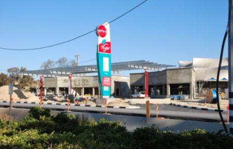 כביש 31-שדרוג תחנת 'דלק' ערד
