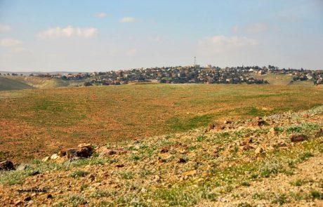 ערד: מכרז פומבי לבניה עצמית בשכונת נופים- בית צמוד קרקע עם יחידות אירוח