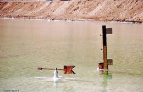 מפלס ים-המלח- לפני עשור היה גבוה ב-11 מ'