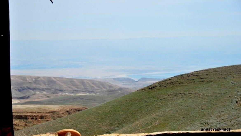 נוף לים המלך ממרפסת זמן מדבר צילום-ענת רסקין