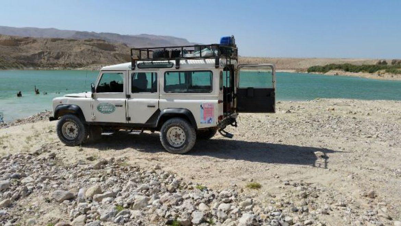 האגם הנסתר בים המלח צילום-גיורא אלדר