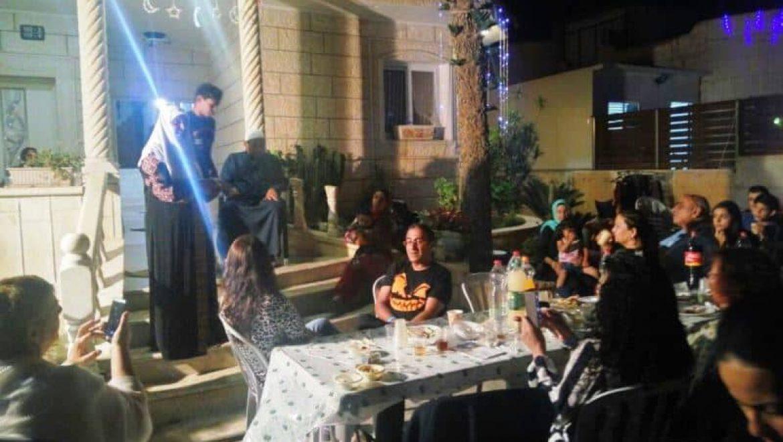 ארוחת איפטאר אצל חוסנייה בן ברי ברהט צילום-ענת רסקין