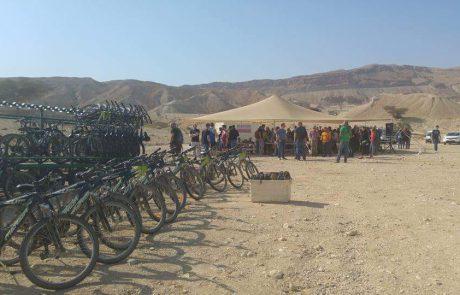 פרא המדבר – טיולי אופניים