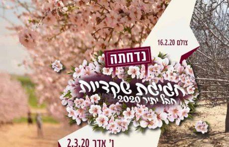 2/3 פסטיבל השקדיות חבל יתיר