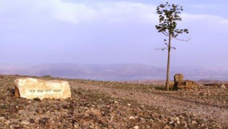 מצפור גורני בערד צילום-ענת רסקין