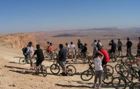 טיול אופניים לקבוצות בים המלח – נחל פרצים